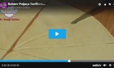 Katmer Poğaça Tarifi Videolu