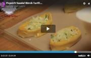 Peynirli Sandal Börek Tarifi Videolu