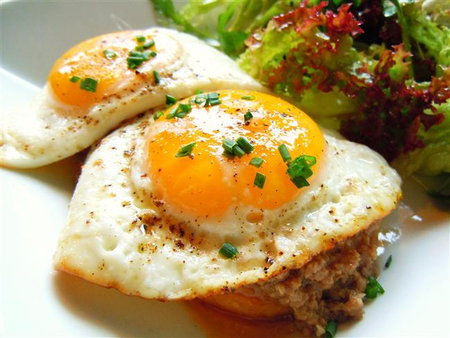yumurtalı biftek