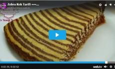 Zebra Kek Tarifi Videolu