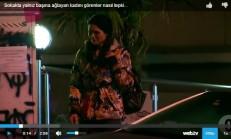 Sokakta Yalnız Başına Ağlayan Kadını Görenler Nasıl Tepki Verdi
